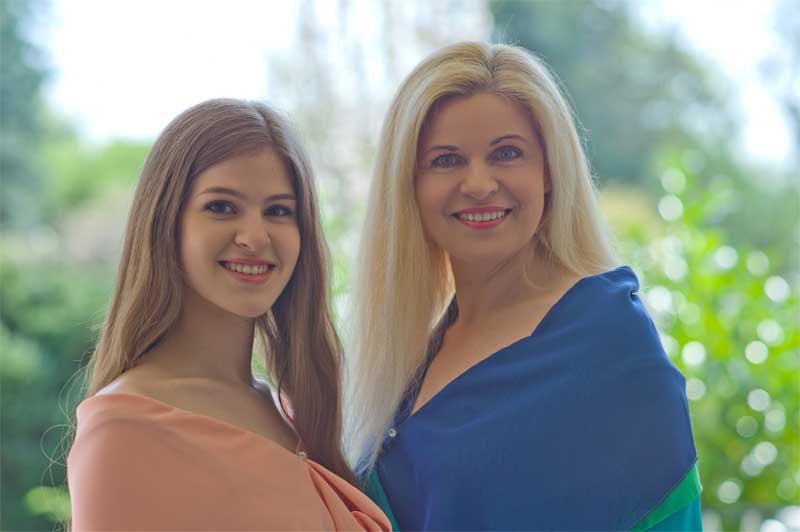 Annette und Lavinia Schiffer im Duett, Ratingen, Feste